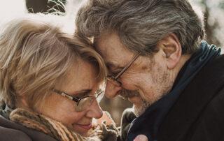 senior citizens couple during pandemic